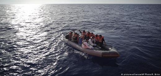 اتفاق أوروبي  مؤقت لتوزيع المهاجرين العالقين بالبحر
