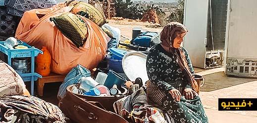 تشريد أرملة رفقة طفليها بعد تنفيذ حكم بالإفراغ من منزلهم بجماعة الكبداني