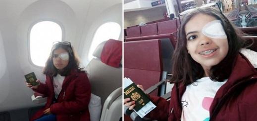 """أيقونة """"حراك الفحم"""" بجرادة """"أمال"""" تلتحق للعلاج في تركيا بعد معاناة مريرة مع السرطان"""