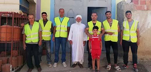 حملة نظافة واسعة بمدينة ميضار من تنظيم جمعية جسر للتنمية والبيئة