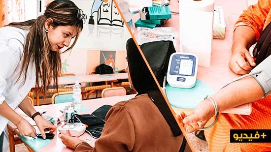 نساء بني سيدال لوطا يستفدن من حملة للكشف المبكر عن حالات سرطان الثدي وعنق الرحم