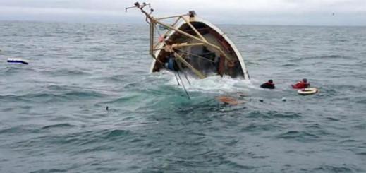 إرتفاع حصيلة حادثة غرق زورق محمل بمهاجرين مغاربة الى 15 غريقا