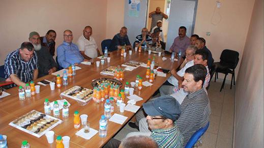 جماعة امجاو تنظم حفلا على شرف الموظفين المحالين على التقاعد