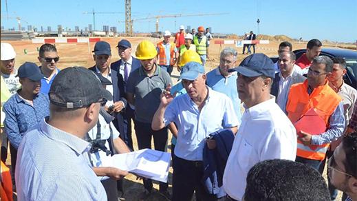 امهيدية وشوراق يقومان بزيارة تفقدية للوقوف على مشاريع الحسيمة منارة المتوسط