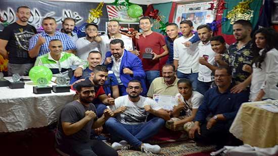 جمعية محمد علي تكرم ابطال جمعيات الملاكمة بالناظور