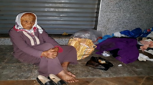 العثور على مسنة مجهولة الهوية بحي لعري نالشيخ ونداء لمن تعرف عليها إخبار عائلتها
