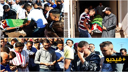 حشود من المواطنين يرافقون سجينا توفي بمستشفى الناظور إلى مثواه الاخير