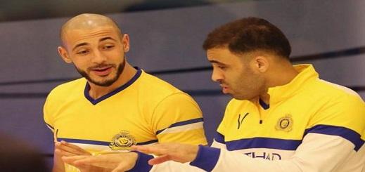 الريفي أمرابط وحمد الله ينالان مكافأة خاصة بعد تحقيق فريقهما الفوز على الرائد في الدوري السعودي