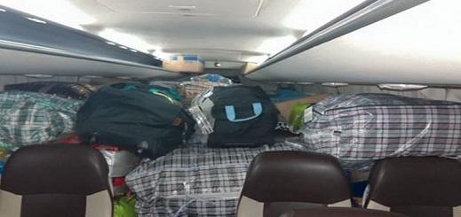 حجز كمية مهمة من البطاريات المهربة داخل حافلة لنقل المسافرين بالدريوش