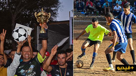 جمعية الإحياء للبيئة والتنمية المستدامة تختتم دوري كرة القدم في نسخته الثاني ببني شيكر