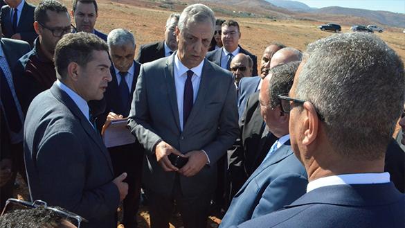 وزير التربية الوطنية وعامل إقليم الحسيمة يتفقدان الوعاء العقاري لمشروع جامعة الحسيمة
