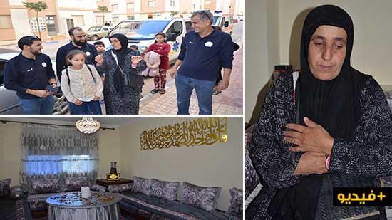 بعد نشر ندائها بناظورسيتي.. جمعية حق اليتيم تسلم منزلا لأرملة بالناظور