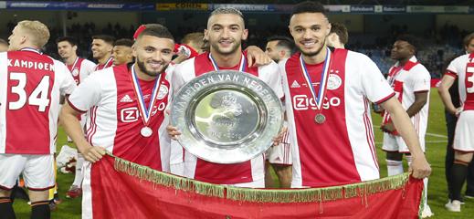 فيديو.. الثلاثي المغربي زياش، مزراوي ولبيض يتألق في مباراة أياكس ضد أوتريخت