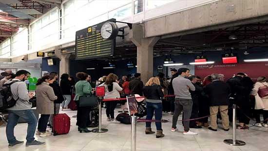 إلغاء عدد من الرحلات الجوية في مطار مليلية بسبب الرياح القوية