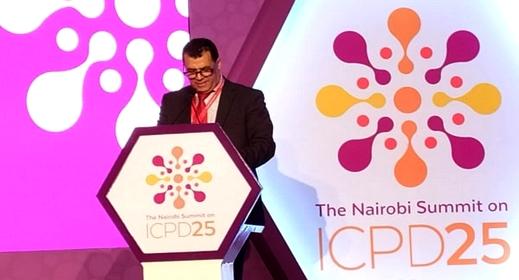 السفير المغربي مختار غامبو يبرز بقمة السكان والتنمية بكينيا تقدم المغرب في مجالات تحسين ظروف عيش الساكنة