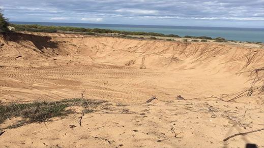 الناظور.. برلماني يستنزف الشواطئ ويدمر الغابة بمقالعه العشوائية