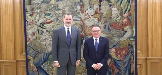 حاكم مليلية يستفـز المغرب بدعوة رسمية لاستقبال العاهل الاسباني في الثغر المحتل