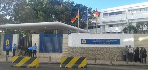 الملحق العسكري بسفارة ألمانيا بالمغرب يتعرض للسرقة بالعنف والأمن يكشف التفاصيل