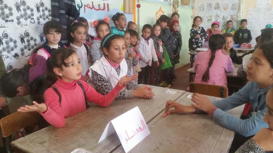 تمسمان.. مدرسة بني مليكشن تحتفل باليوم الوطني للتعاون المدرسي