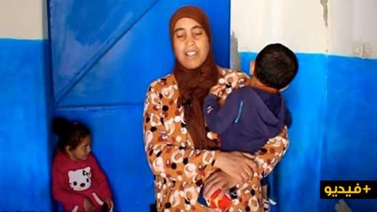 أم من نواحي الكبداني تناشد المساعدة لتوفير القوت اليومي لأبنائها الأيتام وترميم شقوق سقف منزلها