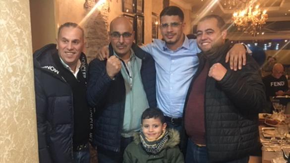 قنصلية المملكة المغربية ببروكسيل تنظم حفل تكريم بهيج للبطل العالمي في فنون القتال يوسف بوغانم