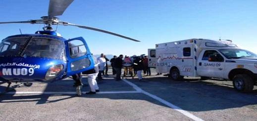 نشطاء يتسائلون عن سبب عدم تحريك مروحيات الإنقاذ في حادثة جبل تدغين بالحسيمة