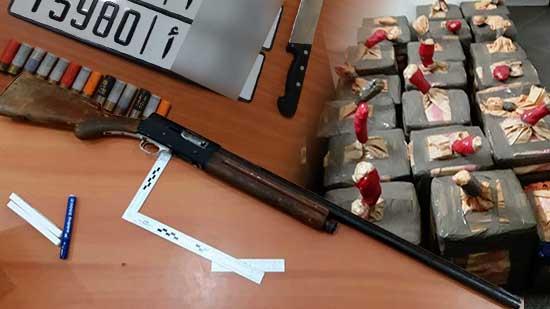 توقيف شبكة للمخدرات حاولت تهريب كمية مهمة من الحشيش باستعمال السلاح الناري