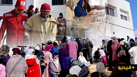 أزيد من 2400 مستفيد من القافلة الطبية الوطنية الأولى من نوعها بدوار الحرشة بجماعة بوعرك