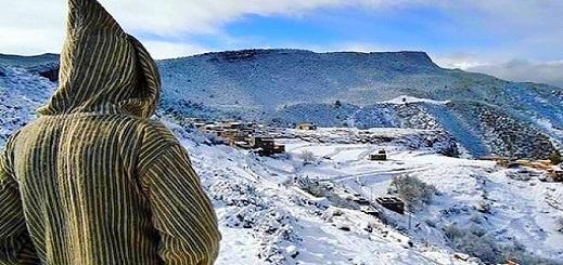 مديرية الأرصاد الجوية تتوقع  أمطارا رعدية وثلوج بمرتفعات الريف