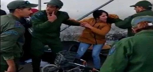 مستجدات محاكمة السيدة التي صفعت جمركيا في المعبر الحدودي بعد أن اعتدى على والدها