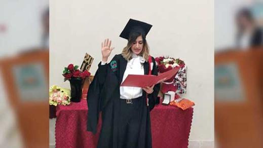 تهنئة للدكتورة مسيليا بوحميدي بمناسبة تخرجها من كلية الطب والصيدلة بوجدة