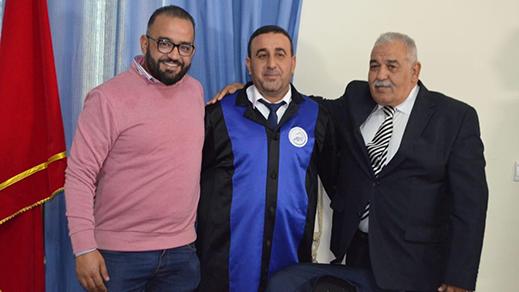 سليل بلدة دار الكبداني الطالب نجيب التنوتي ينال دبلوم الماستر في القانون الخاص بميزة مشرف جدا