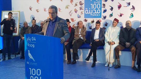 أوجار و سلامة يترأسان قافلة 100 مدينة 100 يوم بجماعة وجدة