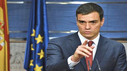 انتخاب الإشتراكي بيدرو سانشيز رئيسا للحكومة الإسبانية