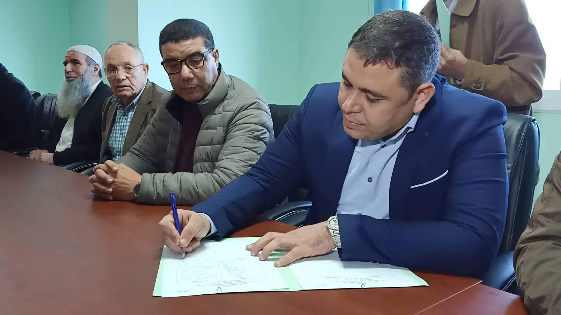انتخاب رفيق مجعيط رئيسا جديدا لجماعة الناظور