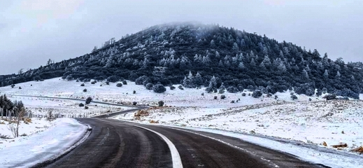 نشرة خاصة.. تساقطات ثلجية متوقعة بالحسيمة وطقس بارد مصحوب برياح قوية