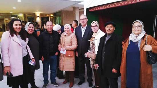 """حضور  متميز لجمعية ايمن للتوحد في سهرة"""" توحدي و فنان """" بمسرح محمد الخامس"""