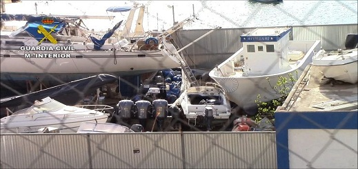 مليلية.. تفكيك شبكة مكونة من  مغاربة وإسبان يمولون شبكات تهريب البشر بالقوارب المطاطية