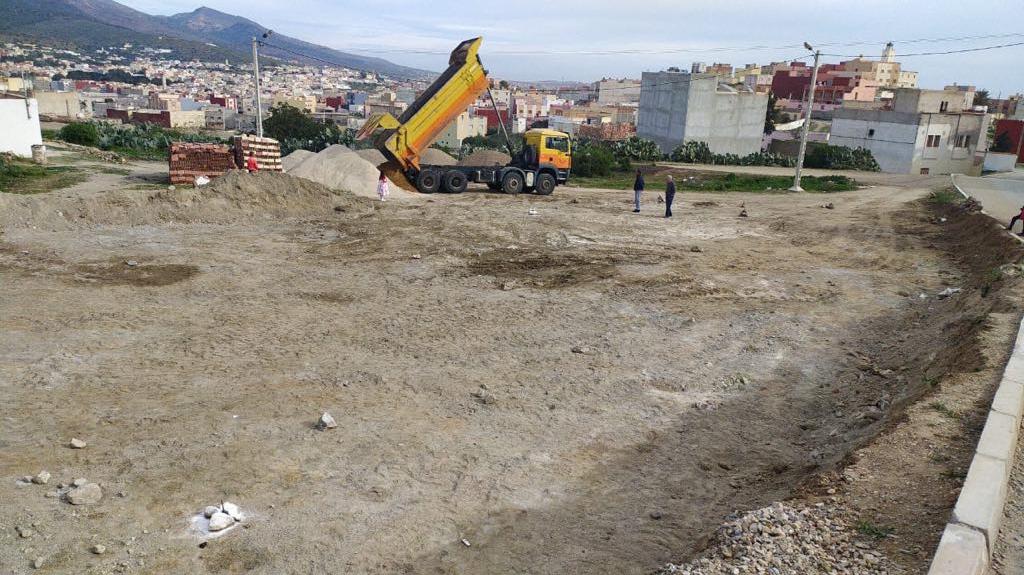 نداء للمحسنين .. طلب مساعدة مادية أو عينية لبناء مسجد في حي ايت حانوت بأزغنغان