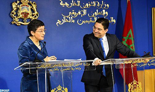 وزيرة الخارجية الاسبانية تؤكد على جودة العلاقات المغربية الاسبانية