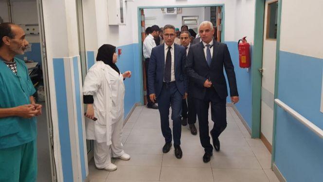 وزير الصحة يعفي المدير الجهوي لجهة الحسيمة طنجة