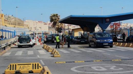 حكومة سبتة المحتلة ترد على المغرب وتمنع مجموعة من السلع المغربية من الدخول