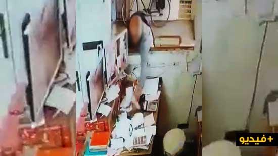 """بفضل هذا الفيديو.. سارق """"تابلت"""" من محل وسط الناظور في قبضة الشرطة"""
