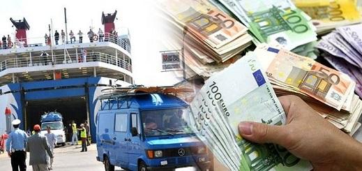 تحويلات الجالية المغربية نحو المملكة تتجاوز 64 مليار درهم خلال السنة المنصرمة