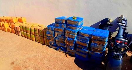 أكثر من نصف طن مخدرات داخل منزل بقرية أركمان