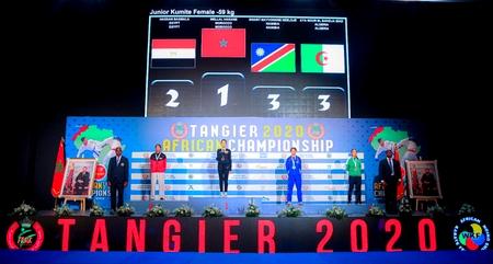 بعد انتزاعه 37 ميدالية.. المغرب يُحرز لقب البطولة الإفريقية للكراطي