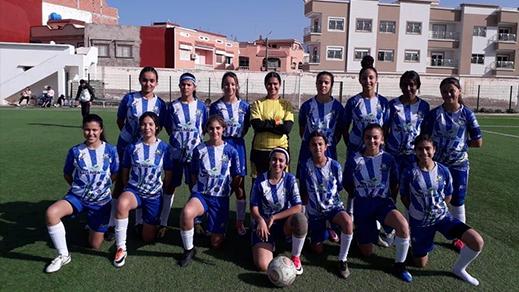 فريق إناث مدرسة طارق بالناظور يعود بفوز مهم من السعيدية بعد فوزه على فريق أمل أحفير