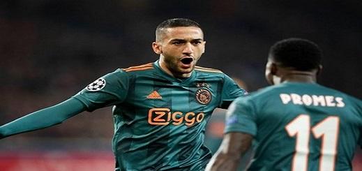 زياش يتصدر لائحة أغلى اللاعبين في الدوري الهولندي الممتاز