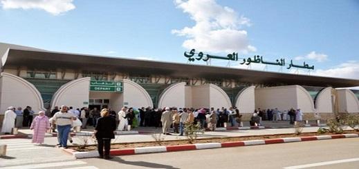 مطار الناظور سابعا وطنيا في حركة النقل الجوي
