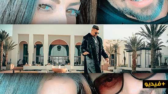 بمناسبة عيد الحب.. مسلم يُصدر كليب جديد بطلته زوجته أمل صقر